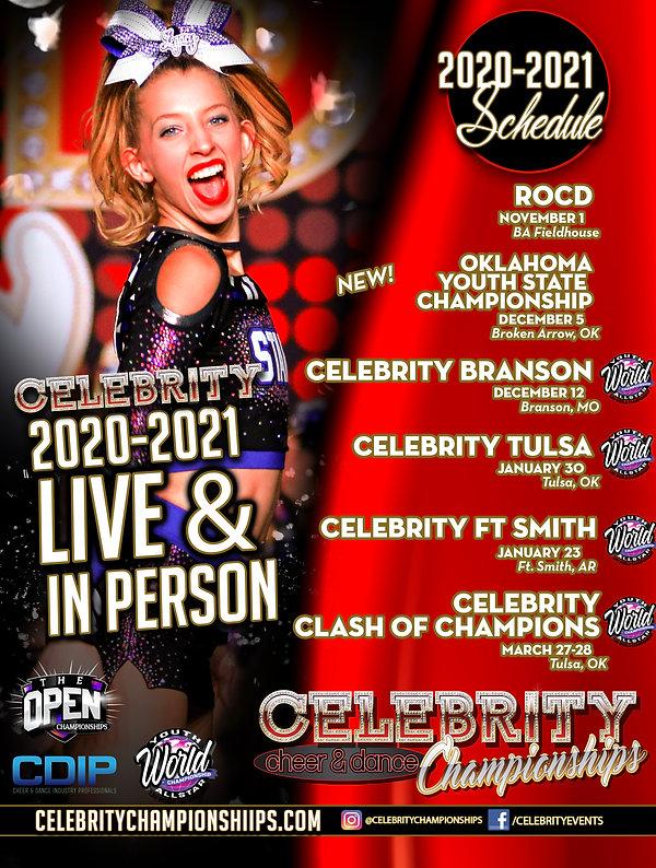 Celebrity 2020-2021 Schedule_ALLSTAR cop