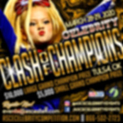 Celebrity Clash of Champions Flyer 20203
