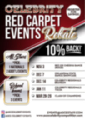 Celebrity Red Carpet Rebate Flyer 2019-2