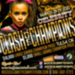 Celebrity Clash of Champions Flyer 20202
