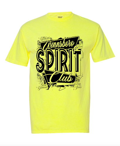 Winnsboro Neon Yellow Tee