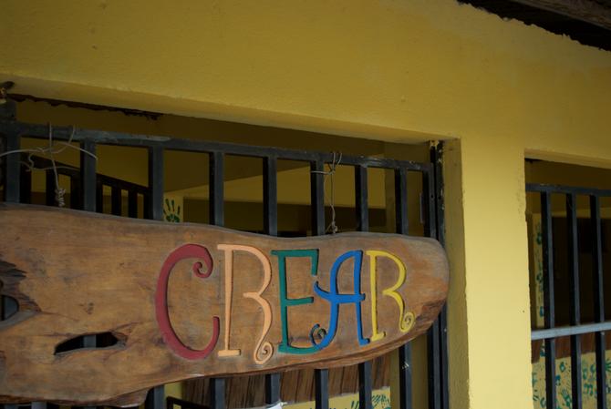 Fixing up the Salon Comunal, aka the New Casa CREAR