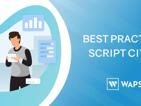 Best practices script Citrix
