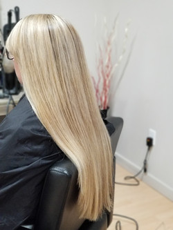 Highlights And Brazilian Blowout