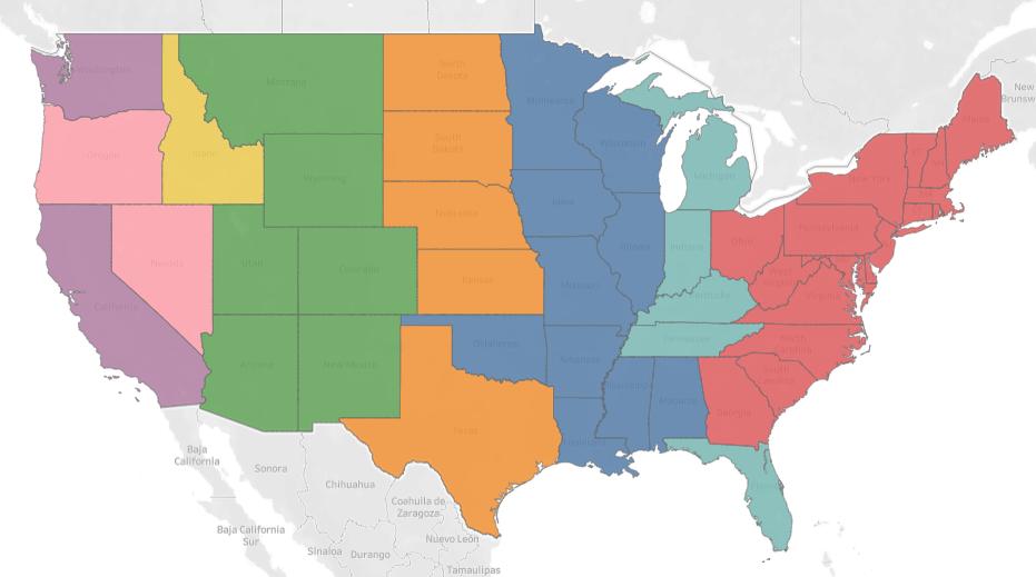 United States Sales Territory Design