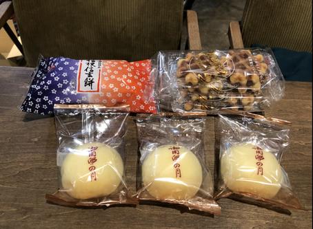 和菓子と漬け物