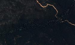 Section of the Breakneck River, KI