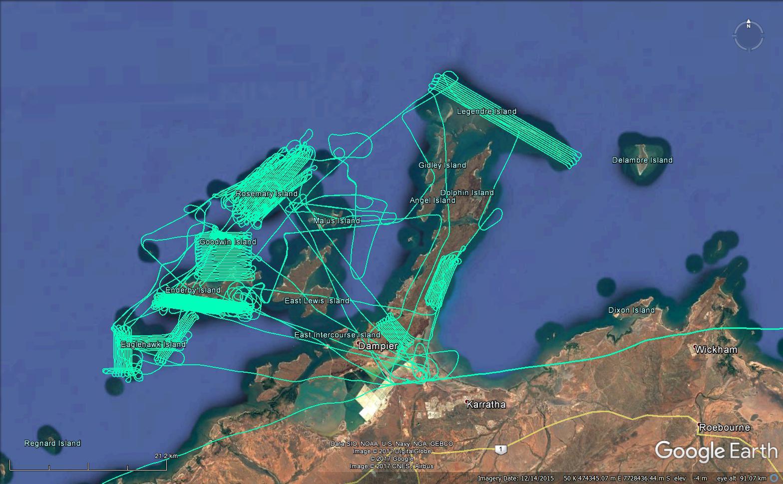 DHSC- MappingFlighttracks