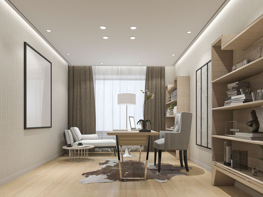 Soundproof Your Home Office and Reduce Stress With These Savvy Design Solutions