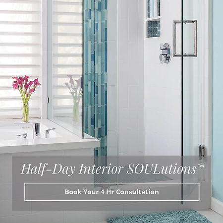 Book half-day interior solutions by Soul Interiors Design