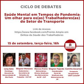 Evento on line: Saúde Mental em Tempos de Pandemia