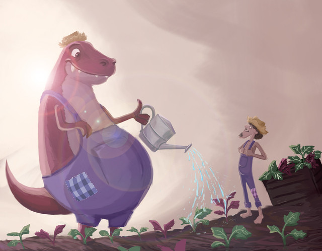 O Dinossauro e o Caipira