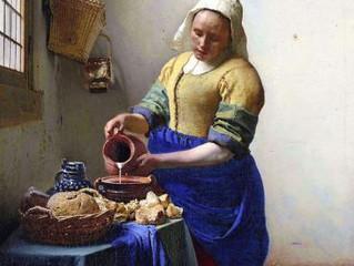Johannes Vermeer, dans la capture de l'instant !