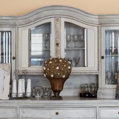 Retro Shelf with Ornaments