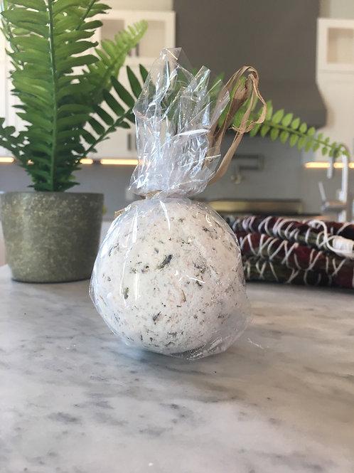 Lavender Gemstone Bath Bomb by Fading West