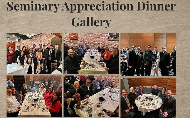 Seminary Appreciation Dinner Gallery