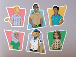 La Familia Rocha Stickers