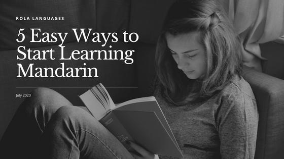 5 Easy Ways to Start Learning Mandarin