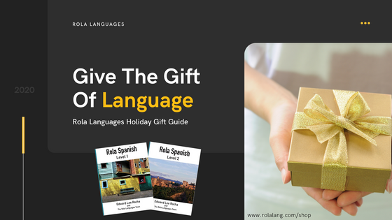 Give The Gift Of Language | Rola Languages Holiday Gift Guide