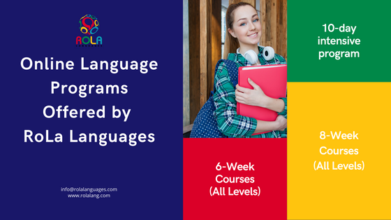 Online Language Programs Offered by RoLa Languages