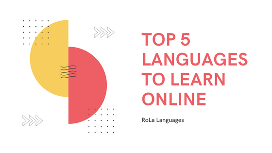 Top 5 Languages to Learn Online