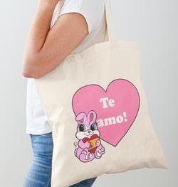 Te Amo Bunny Tote