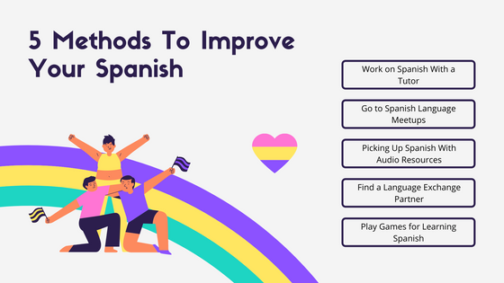 5 Methods To Improve Your Spanish