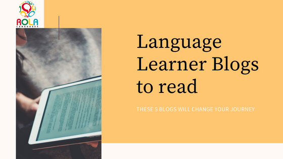 Language Learner Blogs to read