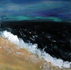 Navy Blue Ocean