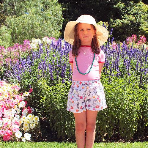 Alice in Wonderland Shorts