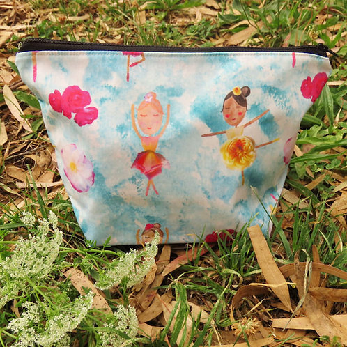 Waltz of the Flowers Cosmetic Bag