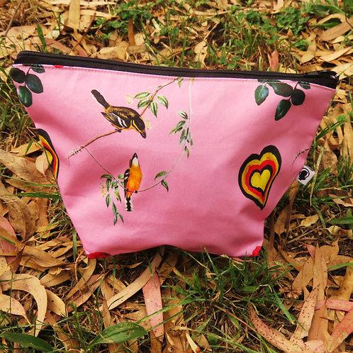 Love Birds Cosmetic Bag