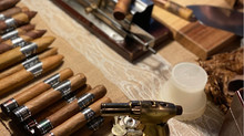 """A Look Back at our October 21, 2019 """"Cigars, Sips and Sustenance Cigar Dinner""""."""