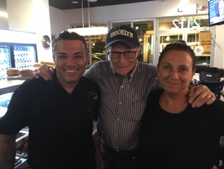 Larry King Visits Brunos of Brooklyn!