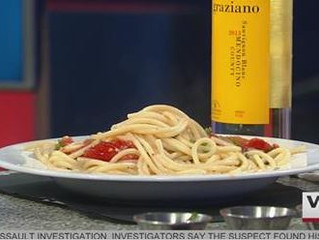 Cooking with Bruno's of Brooklyn on WINK News!