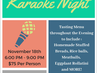 Bruno's of Brooklyn Does Karaoke Night Right!!!!