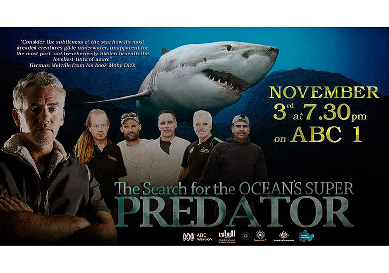 Search for the Oceans Super Predator