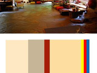 あの落水荘の色彩構成!