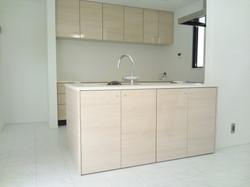 キッチン扉や食器棚扉のナチュラル感を表現