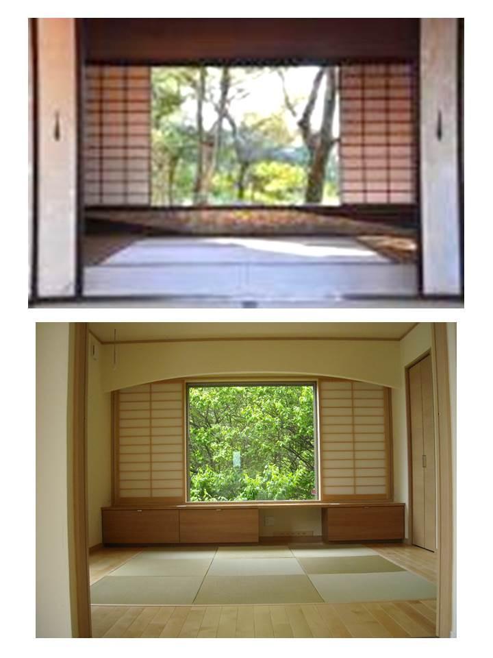 桂離宮と百合丘の家.jpg