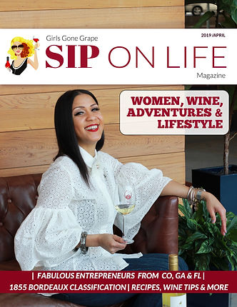 Sip On Life Magazine - April 2019 - Cove