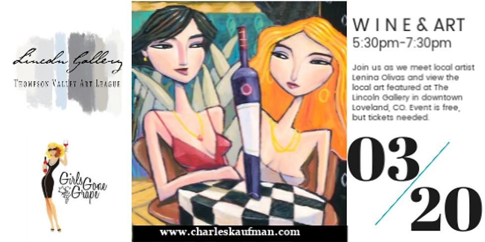 Wine & Art, Loveland CO