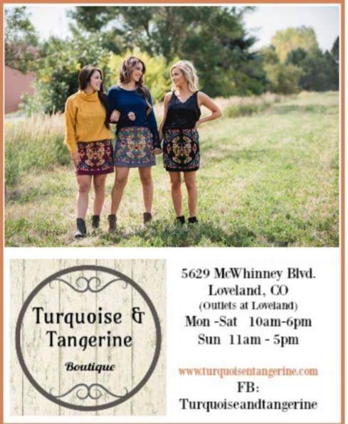 Turquoise & Tangerine Boutique