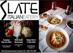 Slate Italian Eatery