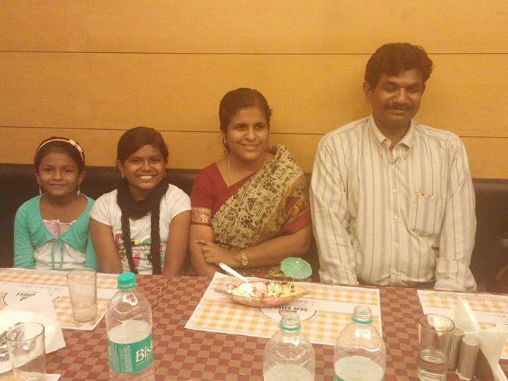 A beautiful family! Pastor Lawrence Guna