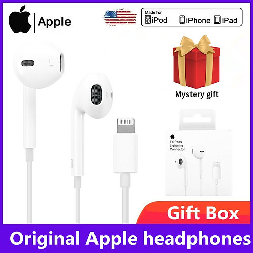 iPhone 6  8 Plus X 11 iPhone12 Headset for iPhone/iPad  Sport Earbuds