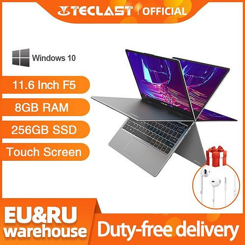 "Laptop 11.6"" 8GB RAM 256GB SSD Windows10 HD 360 Rotating Touch Screen"