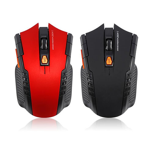 1600DPI 2.4GHz Wireless Optical Mouse for PC Gaming Laptops Wireless Mice&USB