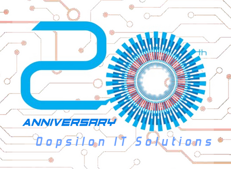 We are celebrating our 20 years anniversary!