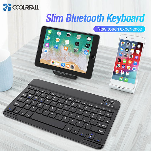 Coolreall Wireless Keyboard for Ipad / Android Tablet PC Bluetooth Keyboard